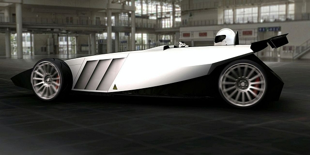 Westfield's new electric racer. Image by Westfield.
