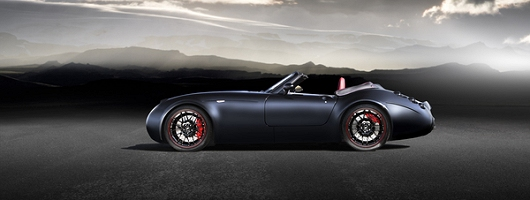 New Wiesmann Roadster for Frankfurt. Image by Wiesmann.
