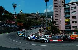 Ralf Schumacher finished in 3rd - his first ever finish at Monaco. Image by BMW. Click here for a larger image.