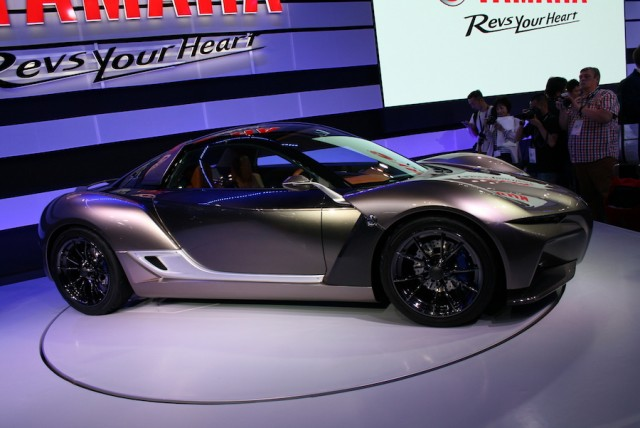 Yamaha tries Sports Ride Concept car. Image by Newspress.