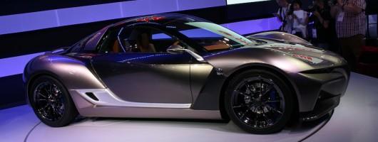 Yamaha tries Sports Ride Concept car. Image by Newspress.